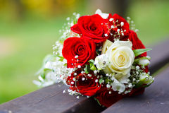 Wedding bouquet. Close up of wedding bouquet Royalty Free Stock Image