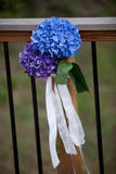 Wedding Bouquet. Bridal bouquet made from multi-colored flowers Royalty Free Stock Photos