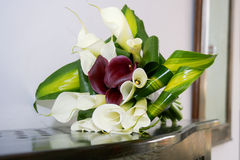 Wedding bouquet. In the room closeup Royalty Free Stock Images