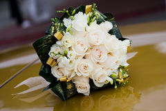 Wedding bouquet. Close up of wedding bouquet royalty free stock images