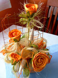 Wedding bouquet. Floral bouquet on special opportunities Royalty Free Stock Photo