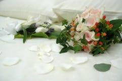 Wedding bouquet. Insoft focus stock photography
