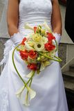 Wedding bouquet. Of beauty long flowers Royalty Free Stock Photos