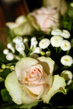 Wedding bouquet. Details of a wedding bouquet Royalty Free Stock Image