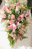 Wedding Bouquet. A brides wedding bouquet - series Royalty Free Stock Image