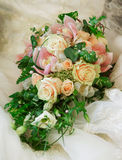Wedding bouquet. From roses, very beautiful Royalty Free Stock Photography