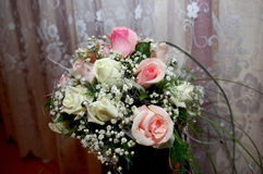 Wedding bouquet. Bouquet of the bride, wedding, flowers, roses Stock Photo