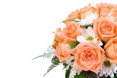 Wedding bouquet. On white background Stock Image