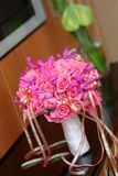 Wedding bouquet. On the desk Royalty Free Stock Photo