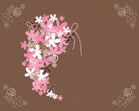 Wedding bouquet abstract Stock Image
