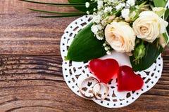 Wedding bouquet, background. royalty free stock image