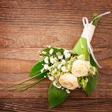 Wedding bouquet, background. Stock Photography