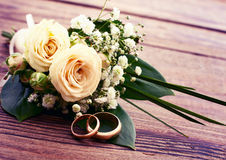 Wedding bouquet, background. royalty free stock images