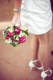 Wedding bouquet on a background from a s Stock Photo