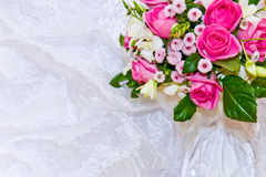 Wedding bouquet backround Royalty Free Stock Photos