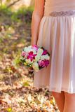 wedding bouquet colorful bridal Stock Images
