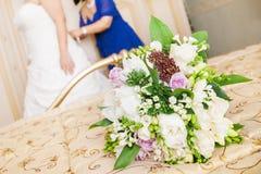 preparation bride Stock Photos