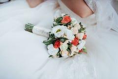 Wedding bouquet, best day in my life. Wedding bouquet. best day in my life royalty free stock images