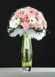 Wedding bouquet on black background Stock Photography
