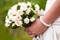 Wedding bouquet of the bride Stock Photo
