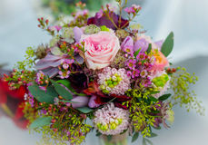 Wedding bouquet for the bride stock image