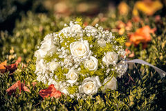 Wedding bouquet of the bride Royalty Free Stock Photography