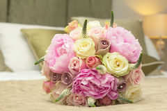 Wedding bouquet for bride Royalty Free Stock Photography