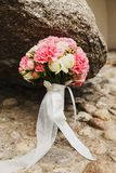 Wedding bouquet of the bride. Stock Photography