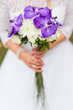 Wedding bouquet of the bride Stock Images