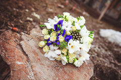 Wedding bouquet. Bride`s flowers Stock Image