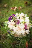 Wedding bouquet. Bride`s flowers Stock Photo