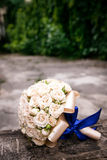 Wedding bouquet. Bride`s flowers, Festive bouquet of the bride Stock Photos