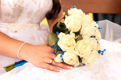 Wedding bouquet. Royalty Free Stock Images