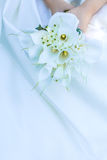 Wedding bouquet in bride's hands Stock Image