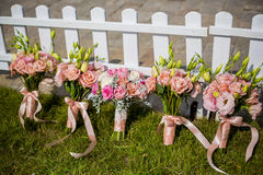 Wedding bouquet of bridesmaid Royalty Free Stock Photography