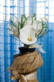 Wedding bouquet of calla lilies Stock Photography