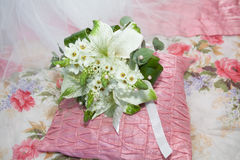 Wedding bouquet with callas Royalty Free Stock Photo