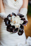 Wedding bouquet. Close up of wedding bouquet Royalty Free Stock Photography