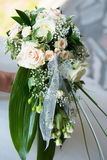 Wedding bouquet close-up Stock Photography