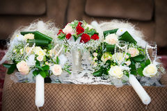 Wedding bouquet close-up Royalty Free Stock Photos