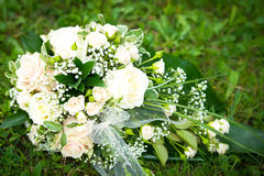 Wedding bouquet close-up Royalty Free Stock Images