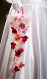 Wedding bouquet close up in hands Royalty Free Stock Images