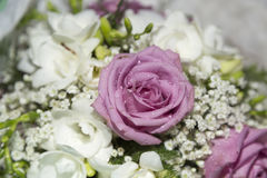 Wedding Bouquet Close Up Stock Photography