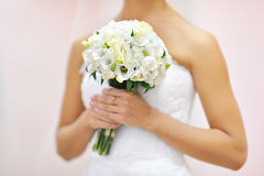 Wedding bouquet - closeup Stock Photography
