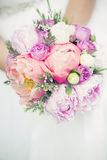 Wedding bouquet closeup Royalty Free Stock Photos