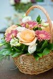 Wedding bouquet closeup Stock Photography