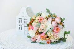 Wedding bouquet closeup Royalty Free Stock Photo