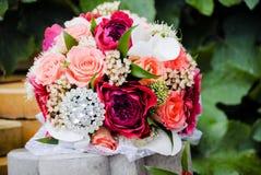 Wedding bouquet closeup Royalty Free Stock Photos