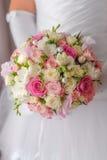Wedding bouquet closeup Stock Images