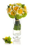 Wedding bouquet with daffodil Stock Photo